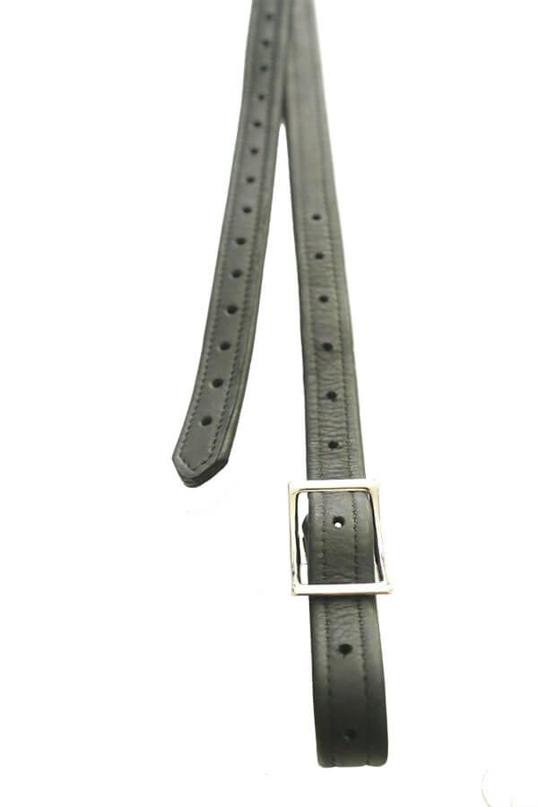 Nylon Leder Steigbügel + Schnalle